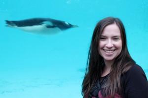 Me at Edinburgh Zoo