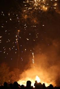Fireworks in Carlisle