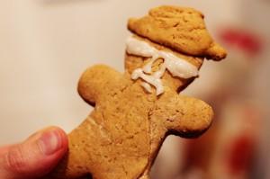Heisenberg Gingerbread Man