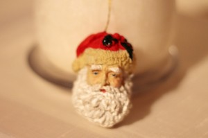 Father Christmas Head 7