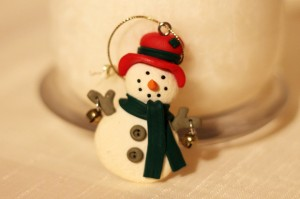 Snowman with Bells, 14