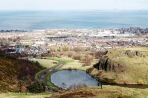View From Arthur's Seat, Edinburgh