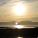 Sunset on the Solway