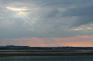Sunset Over Northumberland