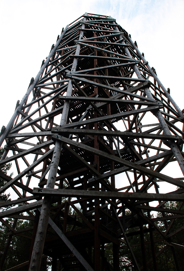 Fire Tower, Landmark Forest Adventure Park