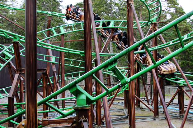 Rollercoaster, Landmark Forest Adventure Park