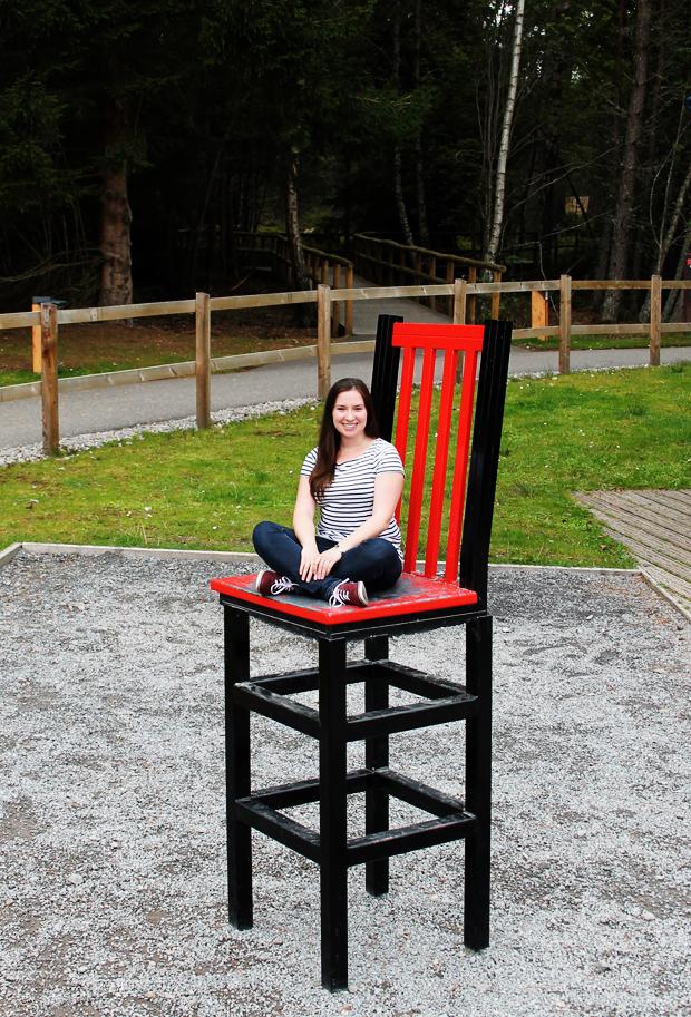 Chair Illusion, Landmark Forest Adventure Park