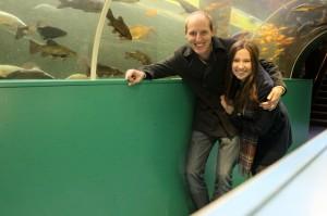 Tunnel at Lakes Aquarium
