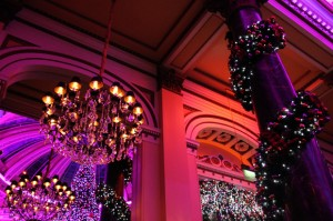 Christmas Decorations, The Dome, Edinburgh
