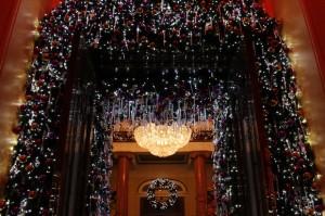 Christmas Decorations, The Dome, Edinburgh