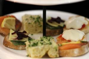 Sandwiches, Afternoon Tea at G&V Royal Mile Hotel Edinburgh