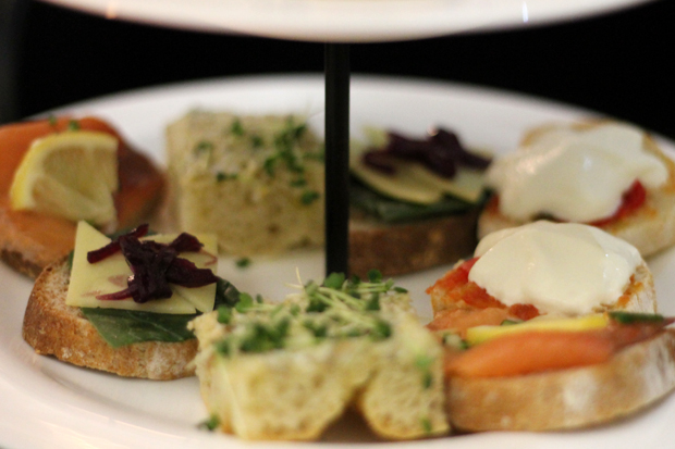 Sandwiches, Afternoon Tea at G&V Royal Mile Hotel Edinburgh