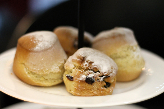Scones, Afternoon Tea at G&V Royal Mile Hotel Edinburgh
