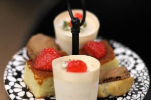 Deserts, Afternoon Tea at G&V Royal Mile Hotel Edinburgh