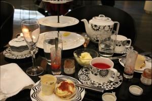 Empty Plates, Afternoon Tea at G&V Royal Mile Hotel Edinburgh