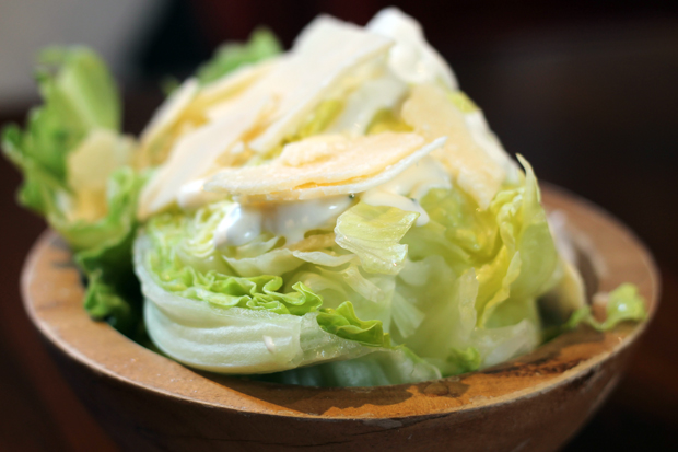 Lettuce Wedge, Miller & Carter Steakhouse, Newcastle
