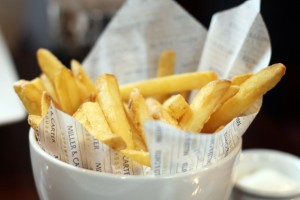 Fries, Miller & Carter Steakhouse, Newcastle