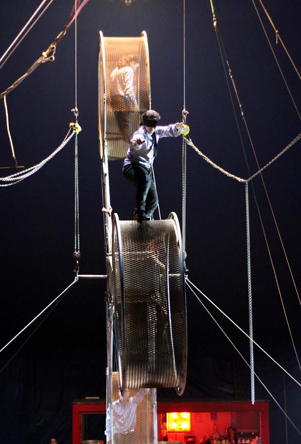 Big Kid Circus Wheel of Death
