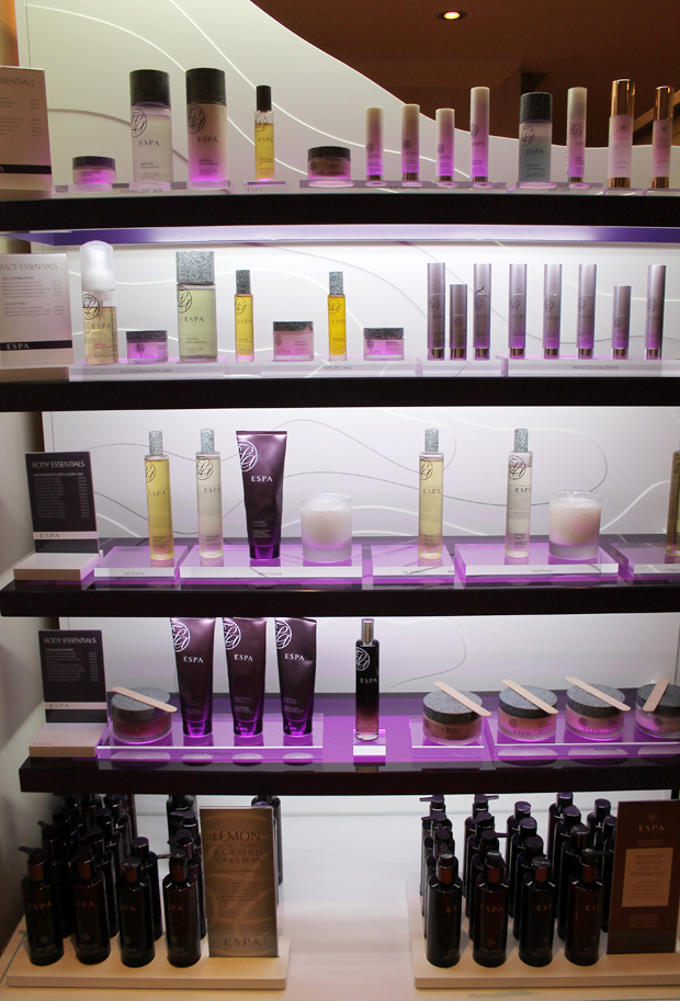 ESPA Skincare Samples, North Lakes Hotel and Spa, Penrith
