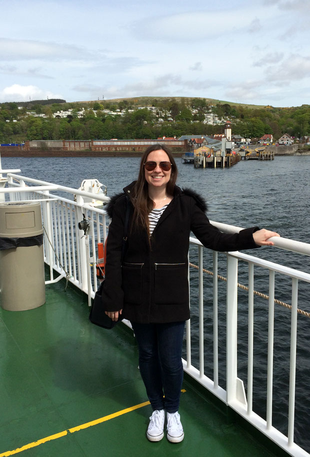 Ferry to Rothesay, Isle of Bute