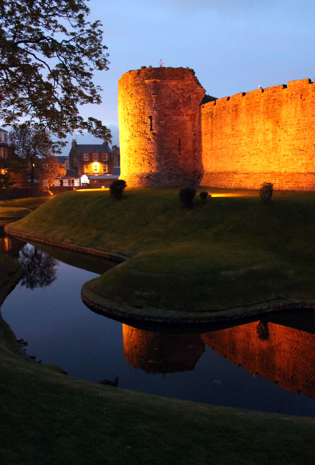 Rothesay Castle, Isle of Bute