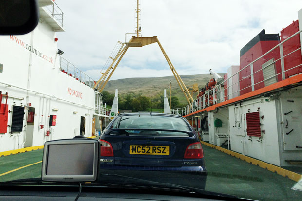 Ferry to Colintraive, Argyll