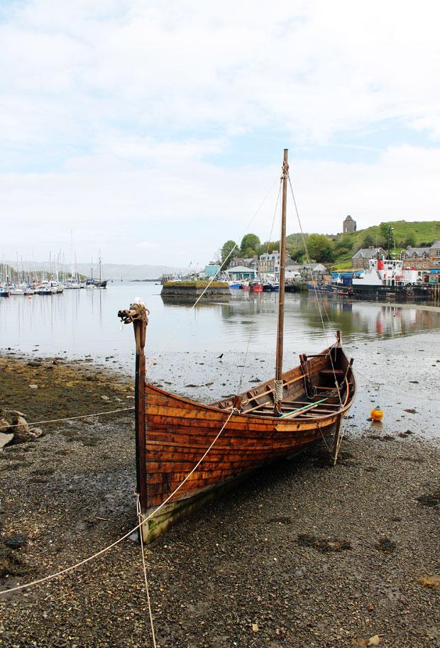 Viking Long Boat, Tarbert, Loch Fyne