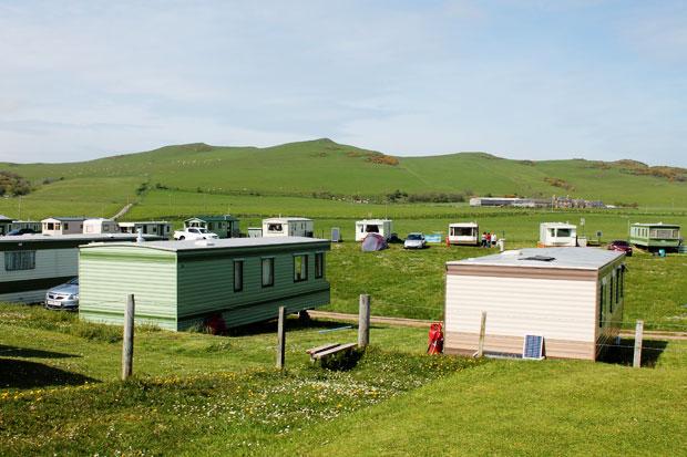 Machribeg Caravan Site, Southend