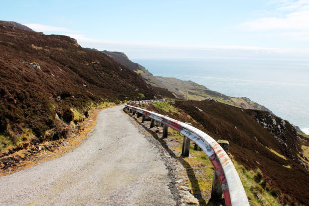 Private Road to Mull of Kintyre Lighthouse