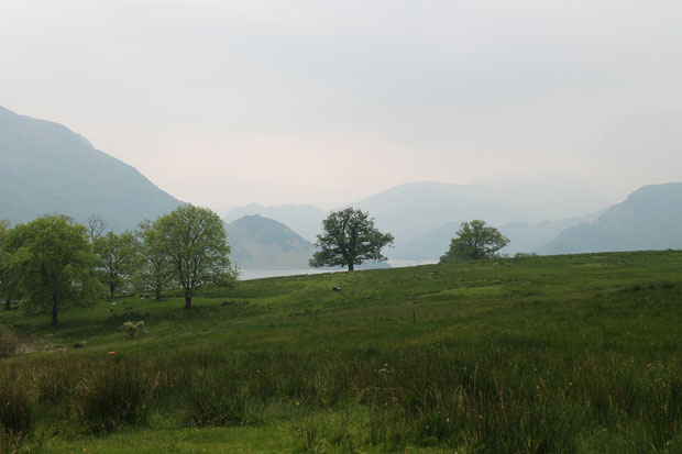 View of Ullswater from Aira Force