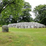 Clava Cairns and Standing Stones near Inverness