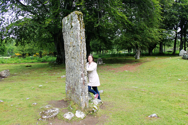 My Outlander Photo at Clava Cairns