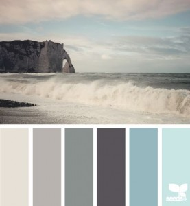Seaside Colour Palette