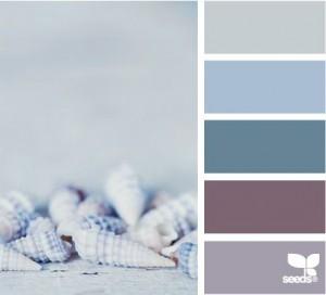 Shell Colour Palette