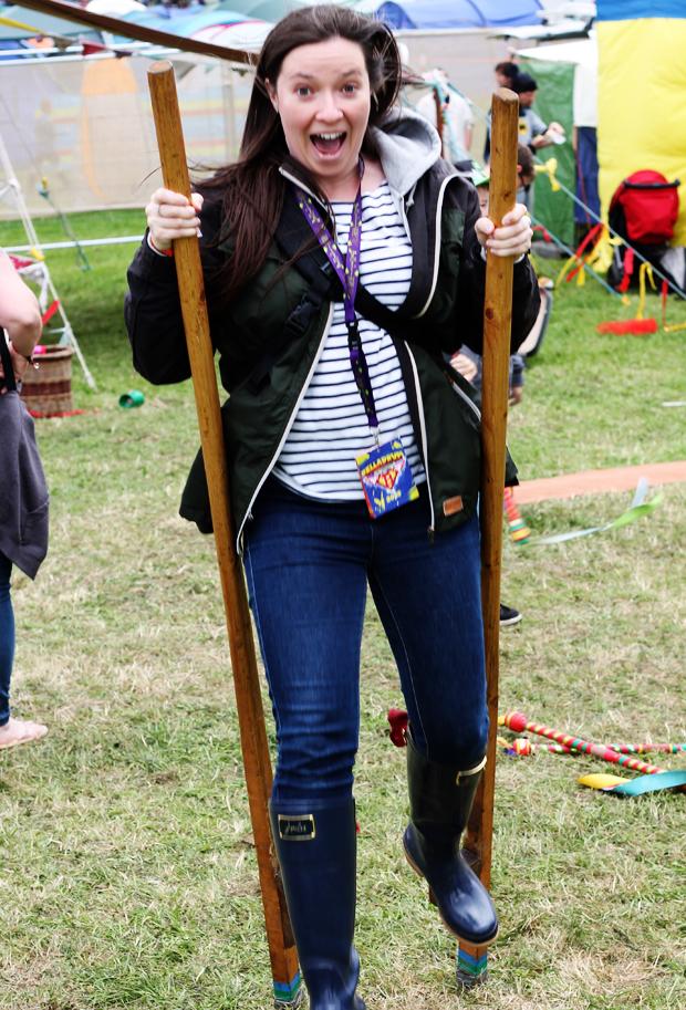 Circus Skills at Belladrum Tartan Heart Festival