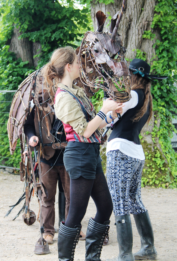 Metal Unicorn, Belladrum Tartan Heart Festival