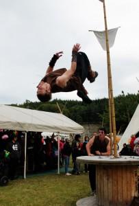 Viking Parkour at Belladrum Tartan Heart Festival