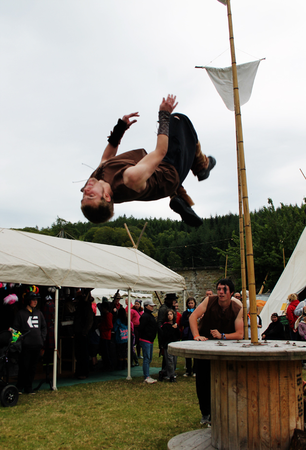 Viking Parkour at Belladrum Tartan Heart Festival