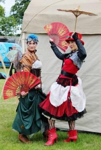 The Burk and Hair Dancers, Belladrum Tartan Heart Festival
