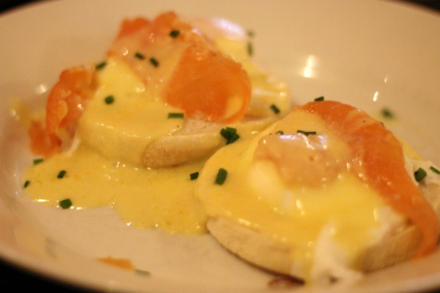 Eggs Royale at Frankie & Benny's, Gateshead