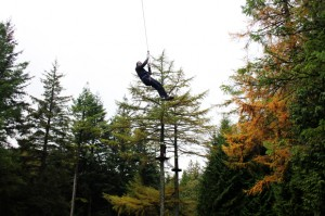 Final Zip Wire, Go Ape, Whinlatter Forest