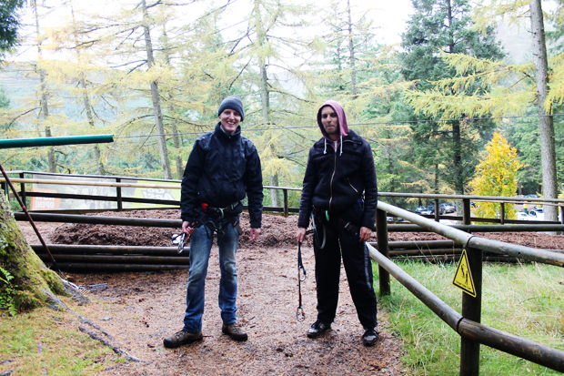 Finish, Go Ape, Whinlatter Forest