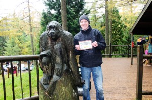 Certificate, Go Ape, Whinlatter Forest