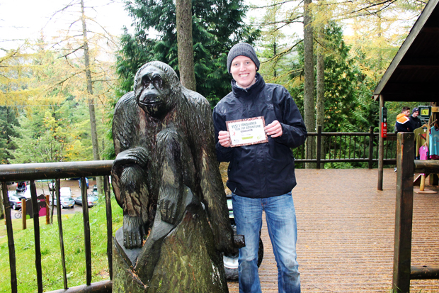 Certificate, Go Ape, Whinlatter Forest