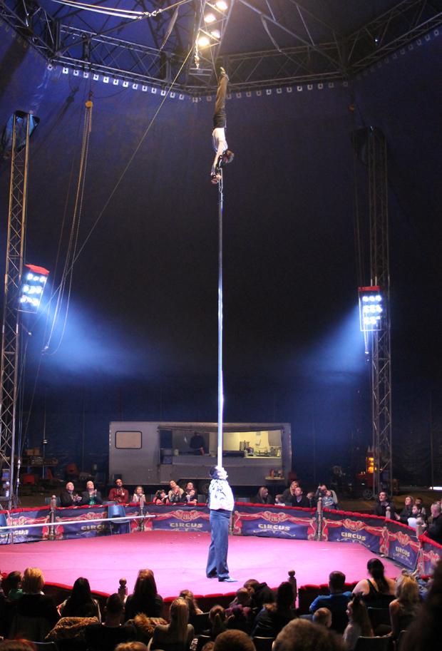 Strength and Balancing Act, Big Kid Circus