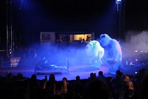 Monsters Inc, Big Kid Circus