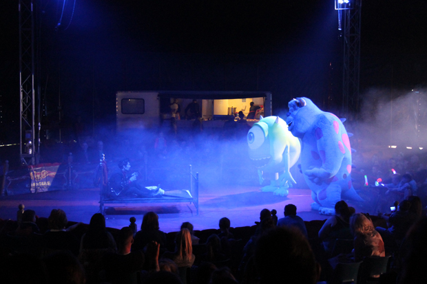 Monsters Inc, Big Kid Circus