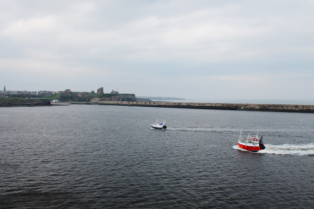 North Shields Harbour from DFDS Princess Seaways
