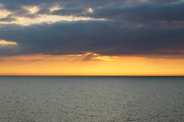 Sunset from DFDS Princess Seaways 2