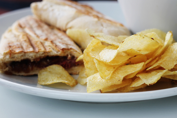 Panini, The Shoreline Cafe, Craster